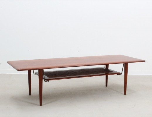 FD 516 coffee table by Peter Hvidt & Orla Mølgaard Nielsen for France & Son, 1950s