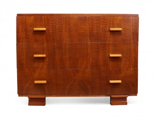 Art Deco Chest of Drawers in Maple