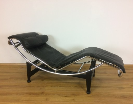 LC4 lounge chair by Le Corbusier & Charlotte Perriand for Cassina, 1970s