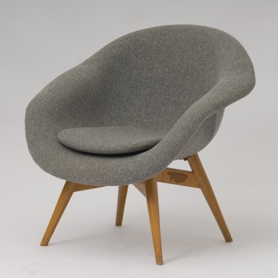 Lounge chair by František Jirák for Tatra Nabytok NP, 1960s