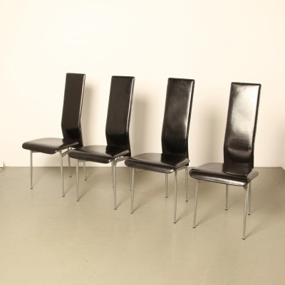 S-44 chair by Giancarlo Vegni & Gianfranco Gualtierotti for Fasem