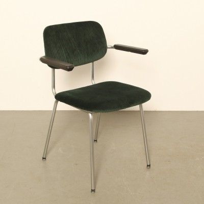 Gispen 'Model 1236' Bent-Chrome-Tube chair, 1960s