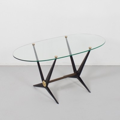 Italian Angelo Ostuni Coffee or End Table, 1950s