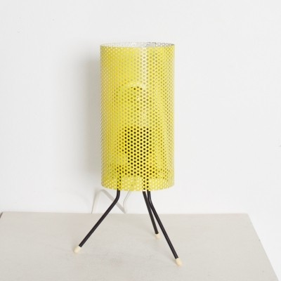 Metal Table Lamp by Tjerk Reijenga for Pilastro, 1950s