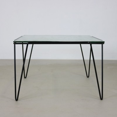 Hairpin coffee table by Arnold Bueno de Mesquita for Groos, 1950s
