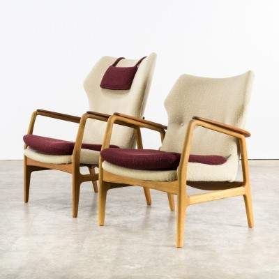 Pair of Aksel Bender Madsen chairs for Bovenkamp, 1960s