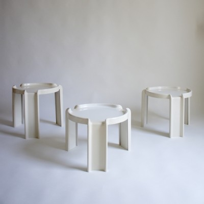 Kartell Table Set By Giotto Stoppino, 1960s