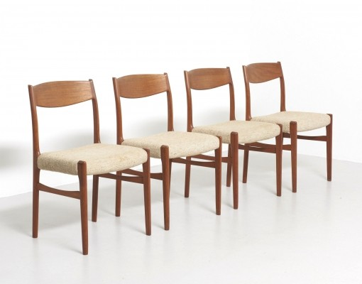 4 x Glyngøre dinner chair, 1960s