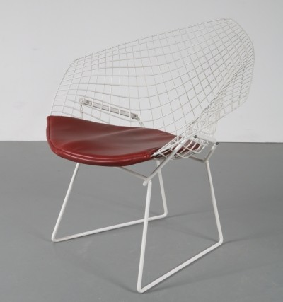 Lounge chair by Harry Bertoia for Knoll International, 1960s