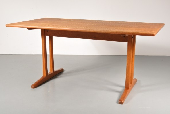 Shaker dining table by Børge Mogensen for FDB Møbler, 1960s