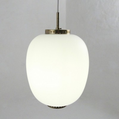 Kina hanging lamp by Bent Karlby for Lyfa, 1950s