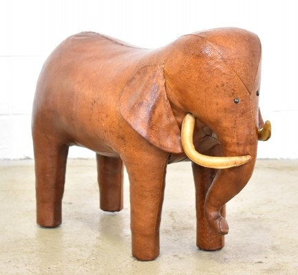 Elephant Footstool by Dimitri Omersa for Abercrombie & Fitch, 1960s