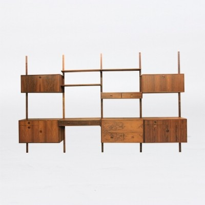 Wall unit by Rud Thygesen & Johhny Sørensen for HG Furniture, 1960s