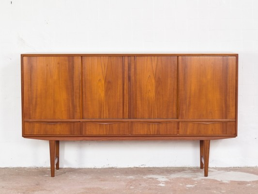 Highboard in teak by EW Bach for Sejling Skabe