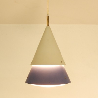 Hanging lamp by Svend Aage Holm Sørensen for Lyfa, 1950s