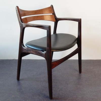 Arm chair by Erik Buck for Christian Christensens Møbelfabrik, 1960s