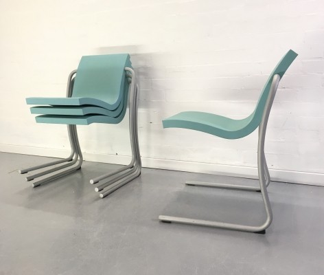 8 x Magic dining chair by Ross Lovegrove for Fasem, 1990s
