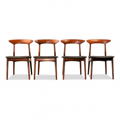 Vintage Danish design Kurt Østervig teak dining-chairs