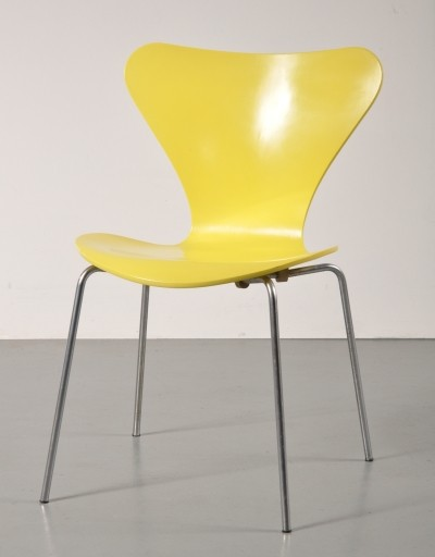 Dinner chair by Arne Jacobsen for Fritz Hansen, 1970s