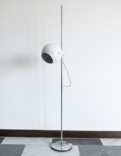 Early adjustable floor lamp by Goffredo Reggiani for Reggiani, 1960s