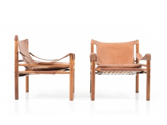 Pair of Sirocco Chairs by Arne Norell