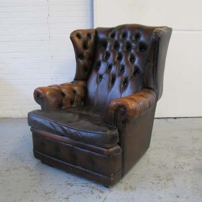 Chesterfield lounge chair, 1980s