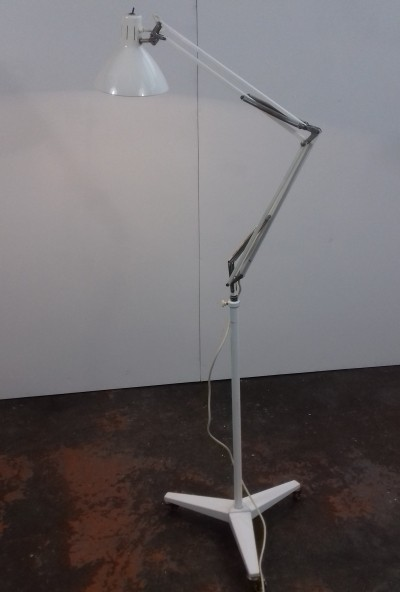 Industrial Floor lamp by H. Busquet for Hala Zeist, 1960s