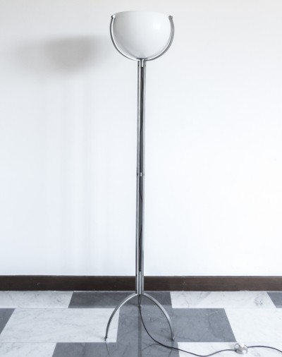 Tripod floor lamp by Marco Zanuso for O-Luce, 1964
