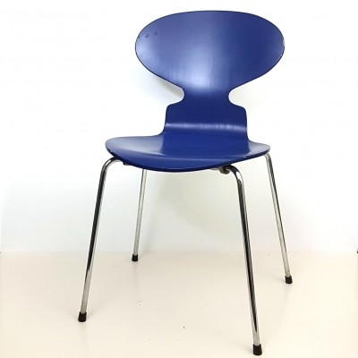 Ant model 3100 dinner chair by Arne Jacobsen for Fritz Hansen, 1980s
