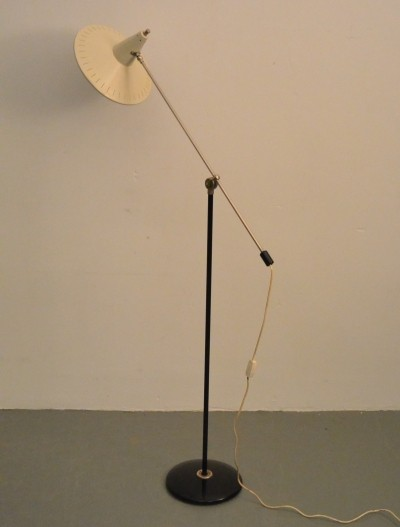 Floorlamp by J.J.M. Hoogervorst for Anvia, 1950s