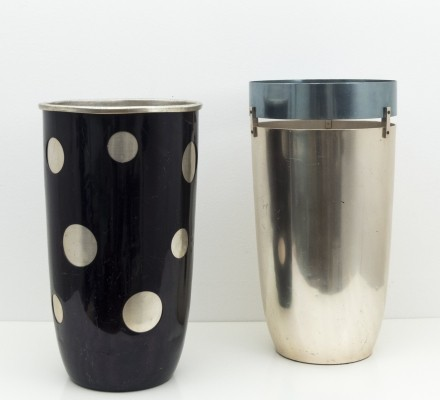 Set of 2 umbrella stand by Ettore Sottsass for Rinnovel, 1955