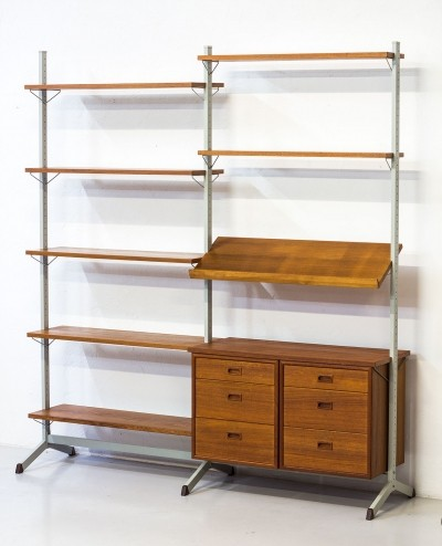 Pira wall unit by Olof Pira for String Design AB, 1960s
