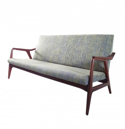 Danish Bovenkamp sofa with wool Nevada upholstery