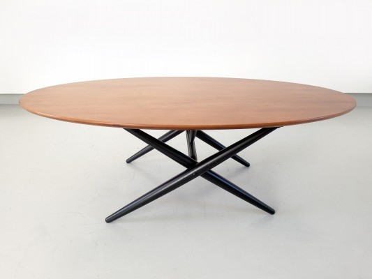 Early Ilmari Tapiovaara 'Ovalette' Coffee Table for Asko Oy Lahti, Finland 1953