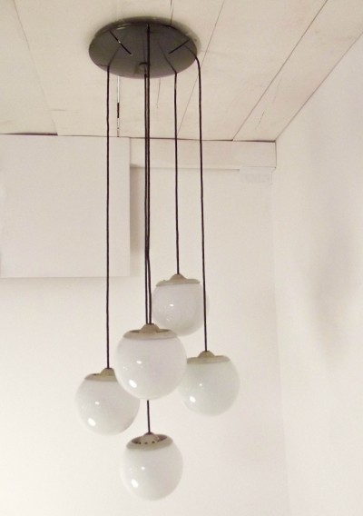 2095/5 hanging lamp by Gino Sarfatti for Arteluce, 1950s