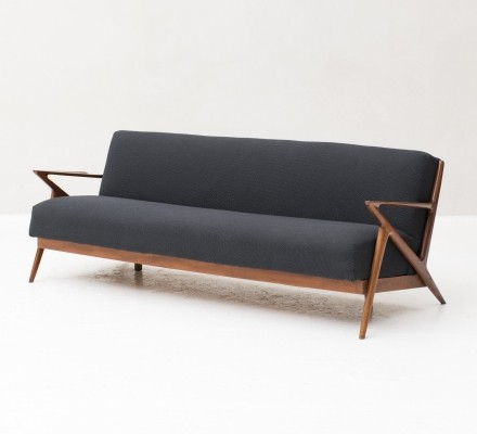Z-sofa/daybed by Poul Jensen for Selig OPE, Denmark