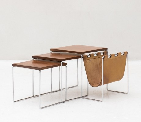 Set of nesting tables by Brabantia, Netherlands 1960s