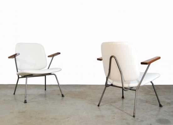 2 x arm chair by Ontwerpbureau N. V. Gispen for Kembo, 1950s
