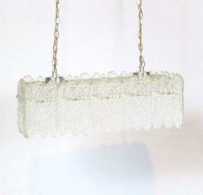 Glass Pendant Light by Carl Fagerlund for Orrefors, 1960s