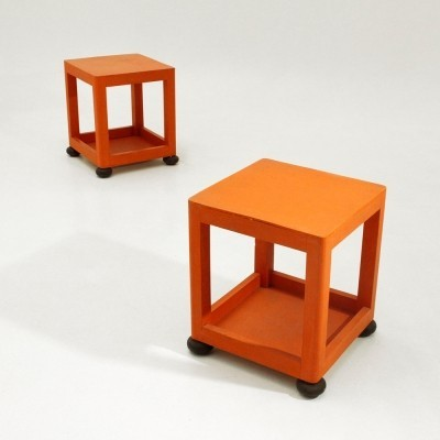Pair of Night stand side tables, 1960s