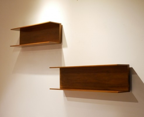 Pair of wall units by Walter Wirz for Wilhelm Renz, 1960s