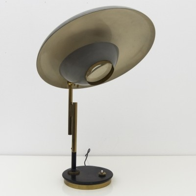 Model 555 table lamp by Oscar Torlasco for Lumi Milano, 1950s