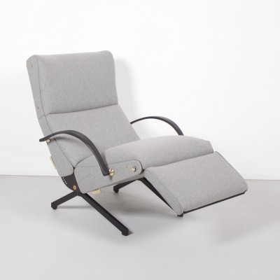 2 x P40 lounge chair by Osvaldo Borsani for Tecno, 1960s