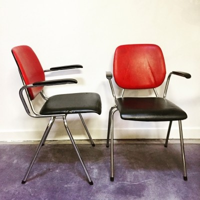 40 x Gispen arm chair, 1960s