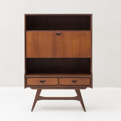 Drop front door cabinet by Louis van Teeffelen for Wébé