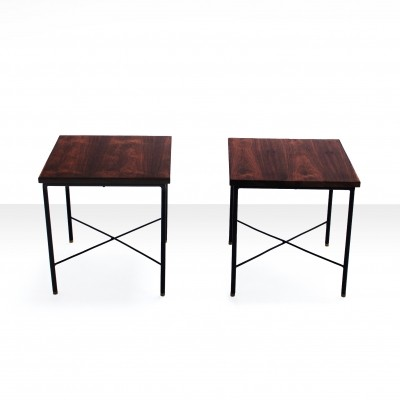 Pair of Sidetables by Geraldo de Barros, Brazil 1960s