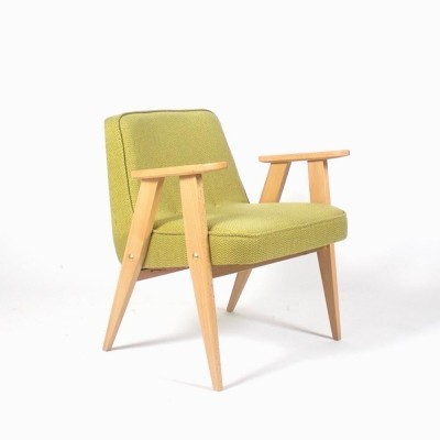 Polish design arm chair by Jozef Marian Chierowski