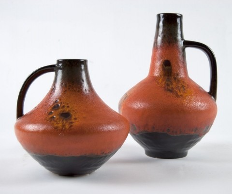 Pair of 60s Vases from Carstens Atelier by Gerda Heuckeroth