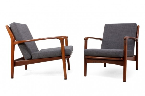 Pair of Teak framed Armchairs by Toothill, 1960s