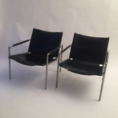 2 x SZ02 lounge chair by Martin Visser for Spectrum, 1960s